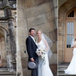 Bride and Groom on wedding day at Mar Hall in Bishopton Glasgow
