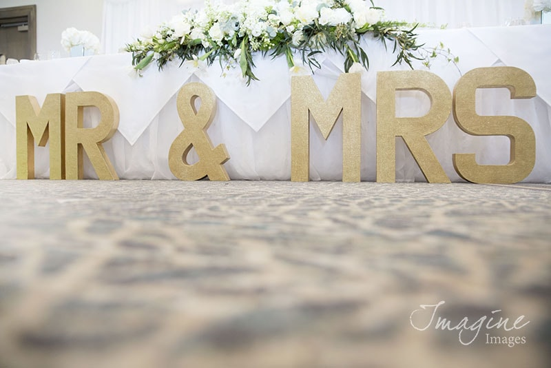 Wedding details at The Waterside Hotel, West Kilbride