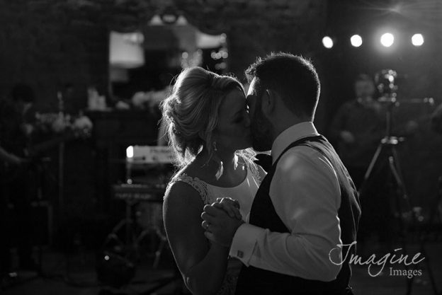 First dance on wedding day at 29 in Glasgow